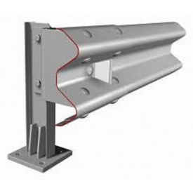Ограждение мостовое металлическое барьерного типа 11МО