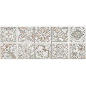 Декор Inter Cerama DOLORIAN 23x60 см серый светлый