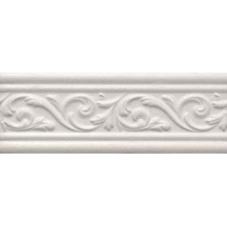 Бордюр Inter Cerama ARABESCO 8,2x23 см білий (БШ 131 061)
