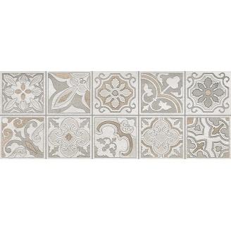 Декор Inter Cerama DOLORIAN 23x60 см сірий світлий
