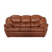 Диван Мебель-Сервис Магнат 1100х2200х1100 мм Мадрас коричневый