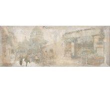 Декор Inter Cerama ANTICA 15x40 см сірий (Д 128 072-2)