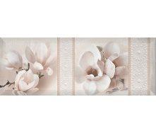 Декор Inter Cerama BINGO 15x40 см белый (Д 125 061-3)
