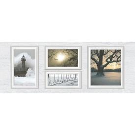 Декор Inter Cerama INDY 23x60 см сірий світлий (Д 118 071-1)