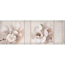 Декор Inter Cerama BINGO 15x40 см білий (Д 125 061-3)