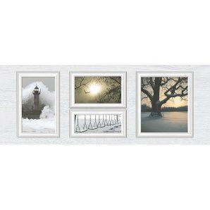 Декор Inter Cerama INDY 23x60 см серый светлый (Д 118 071-1)