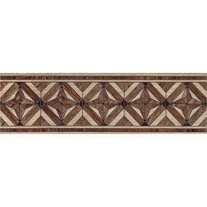 Бордюр Inter Cerama MASSIMA 15x50 см коричневый