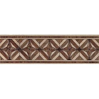 Бордюр Inter Cerama MASSIMA 15x50 см коричневий