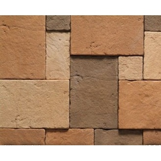 Плитка бетонная Einhorn под декоративный камень Бастион 1051 70х70х12 мм