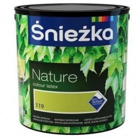 Краска Śnieżka NATURE 131T 2,5 л зеленый чай