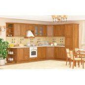 Кухня Меблі-Сервіс Ніка рамка 2,6 м зі стільницею коричневий