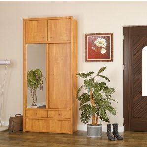 Прихожая Мебель-Сервис Карина 2300х1000х420 мм ольха