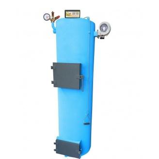 Котел твердотопливный длительного горения Ника с группой защиты и механическим регулятором 20 кВт