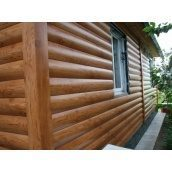 Блок-хаус металлический для фасада сосна