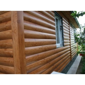 Блок-хаус металевий для фасаду сосна