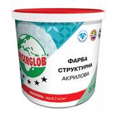 Краска структурная Anserglob акриловая 7,5 кг белый