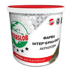 Краска Anserglob акриловая Эко+ 15 кг белый