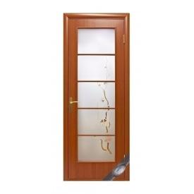 Двері міжкімнатні Новий Стиль КВАДРА Р Вікторія 600х2000 мм вільха