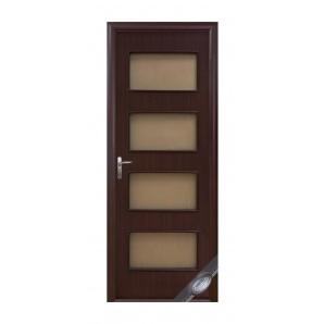 Двері міжкімнатні Новий Стиль КВАДРА Нера 600х2000 мм венге