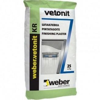 Финишная шпаклевка Vetonit LR Plus 25 кг белая