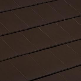 Керамическая черепица Braas Сигни V10 326х480 мм коричневый