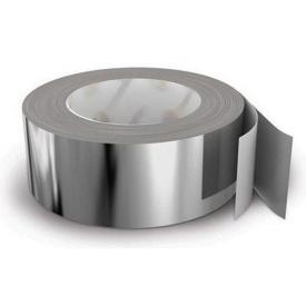 Фольгированная клейкая лента для пароизоляции в рулоне 50 пог. м