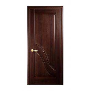 Двері міжкімнатні Новий Стиль МАЕСТРА Амата 600х2000 мм каштан