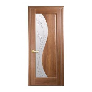 Двері міжкімнатні Новий Стиль МАЕСТРА Р Ескада Р2 600х2000 мм золота вільха