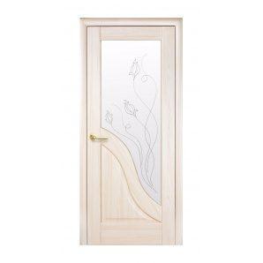 Двері міжкімнатні Новий Стиль МАЕСТРА Р Амата Р2 600х2000 мм ясен