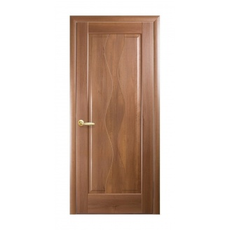 Двери межкомнатные Новый Стиль МАЭСТРА Волна 600х2000 мм золотая ольха