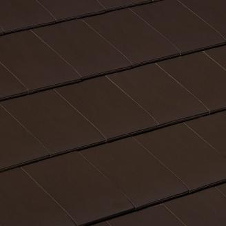 Керамическая черепица Braas Сигни 326х480 мм коричневый