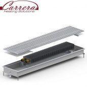 Внутрипольный конвектор Carrera C2 Inox 412 Вт 1000х380х65 мм