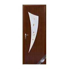 Двери межкомнатные Новый Стиль МОДЕРН Р Парус 600х2000 мм орех