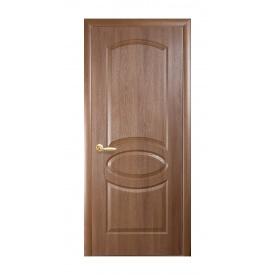 Двери межкомнатные Новый Стиль ФОРТИС DeLuxe R 600х2000 мм золотая ольха