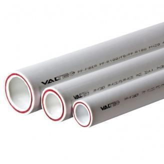 Труба полипропиленовая Valtek армированная стекловолокном SDR 7,4 20х2,8 мм
