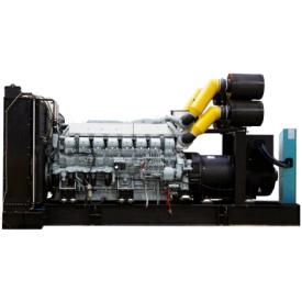 Дизельный генератор 850 кВА с двигателем MITSUBISHI в открытом исполнении ETT-850M