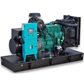 Дизельный генератор 385 кВА с двигателем VOLVO PENTA в открытом исполнении с АВР ETT-385V