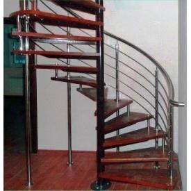 Ступеньки для винтовой лестницы Триумф Запад из гранита