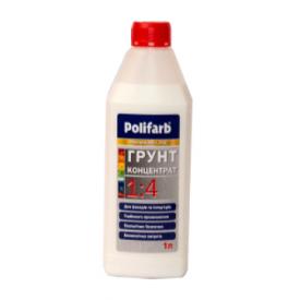 Грунт-концентрат 1:4 Polifarb 2 л молочно-белый