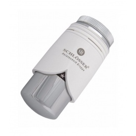Термостатическая головка BRILLANT SH белая-хром