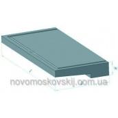 Плита балконна залізобетонна Стройдеталь УКБ 25-5к 150х1370х2490 мм