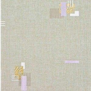 Обои виниловые Versailles на бумажной основе 0,53х10,05 м зеленый (593-25)