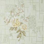 Обои виниловые Versailles на бумажной основе 0,53х10,05 м зеленый (090-25)