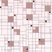 Шпалери вінілові Versailles на паперовій основі 0,53х10,05 м рожевий (094-26)