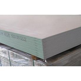 Гіпсокартон Вологостійкий Rigips 12,5 мм 1,20х2 м