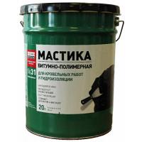 Мастика ТЕХНОНИКОЛЬ №31 для кровельных и гидроизоляционных работ 20 кг