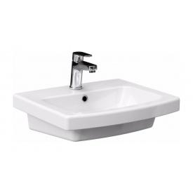 Умывальник Cersanit EASY 55 мебельный 55,5х45,5 см White