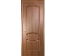 Двери межкомнатные Новый Стиль ИНТЕРА Донна с гравировкой 2000х34 мм Золотая ольха