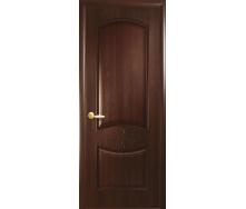 Двери межкомнатные Новый Стиль ИНТЕРА Донна с гравировкой 2000х34 мм Каштан