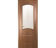 Двери межкомнатные Новый Стиль ИНТЕРА Донна Р2 2000х34 мм Золотая ольха